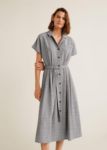 c58a78ced3 Gingham check dress - Women