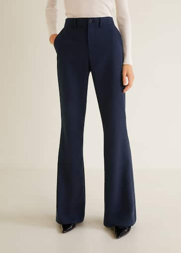 f1d4713c6671 Flared trousers - Woman
