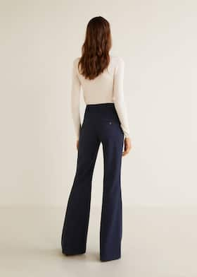 flared pants - women | mango usa