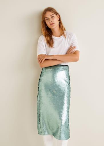 9b7750bcb Sequin skirt
