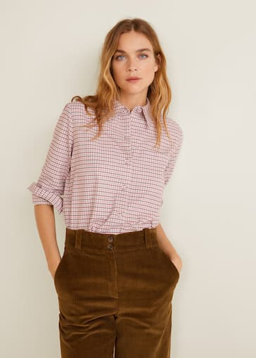 68571616425b Check cotton shirt - Women