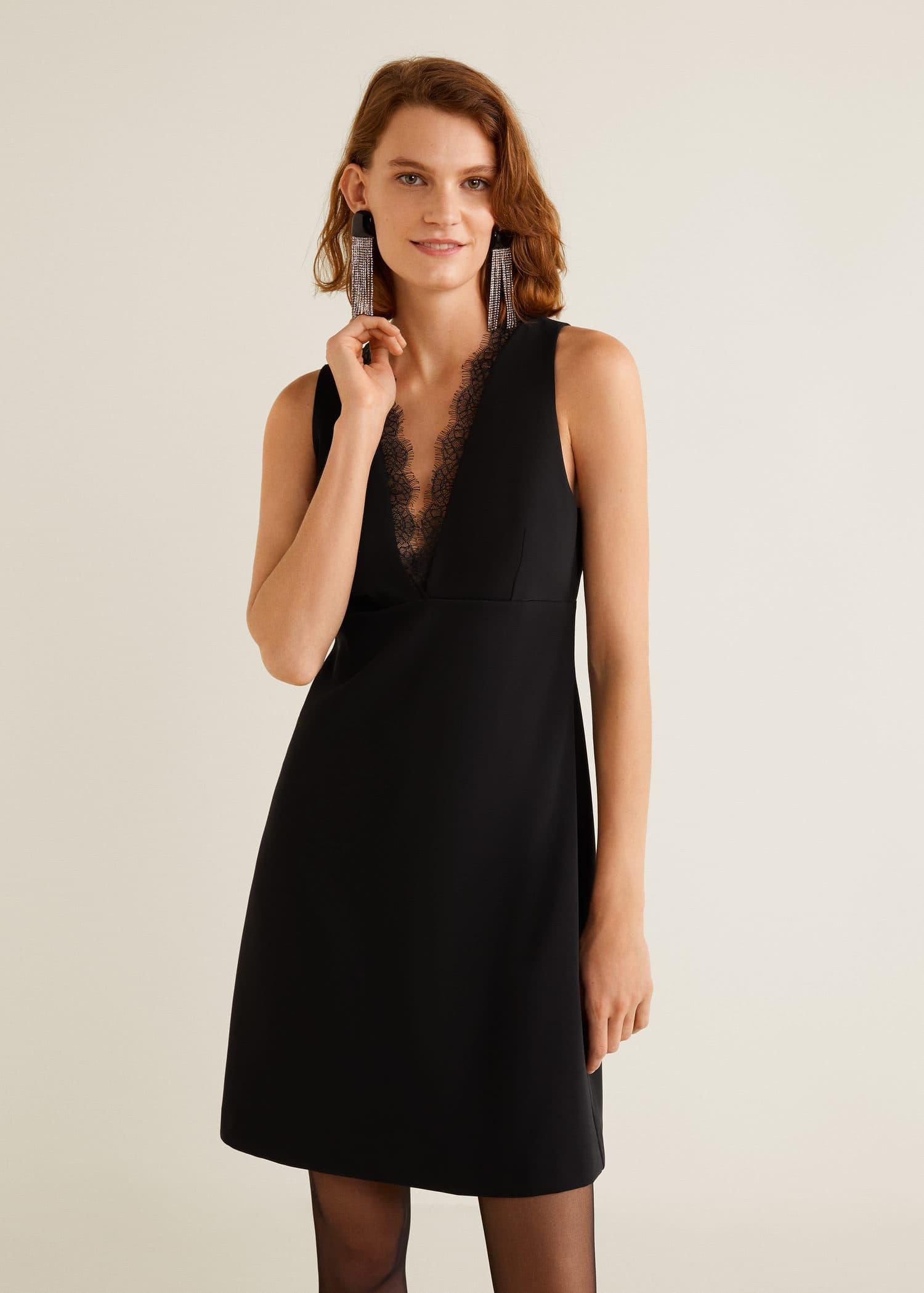 76aaa2204110 Kurze kleider - Kleider für Damen 2019   MANGO Deutschland