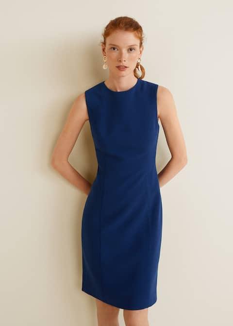 Φόρεμα εφαρμοστό με ραφές