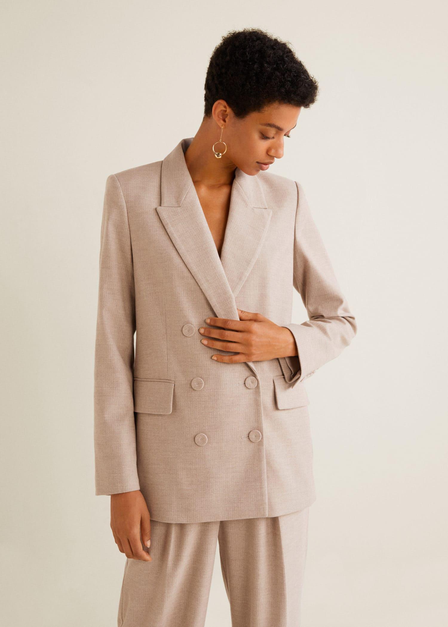 Veste de costume structurée Femme | Mango France