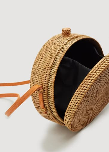 Handmade Bamboo Coffer Bag Women Mango Usa