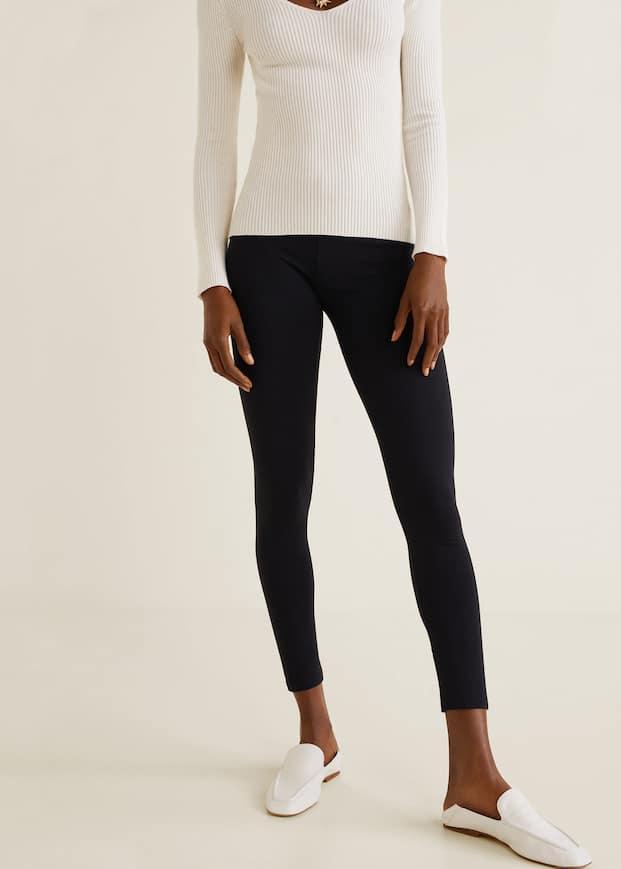 5fbcccc93574cd Essential cotton leggings - Woman   OUTLET Finland