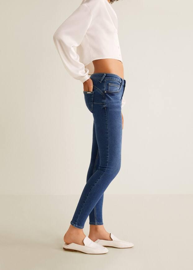 2a3342baa Jeans skinny push-up Kim