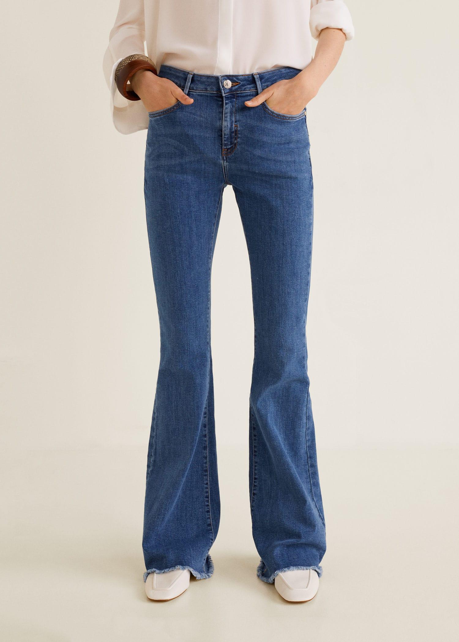 Jeans i mellanblå denim| XLNT Dam | KappAhl