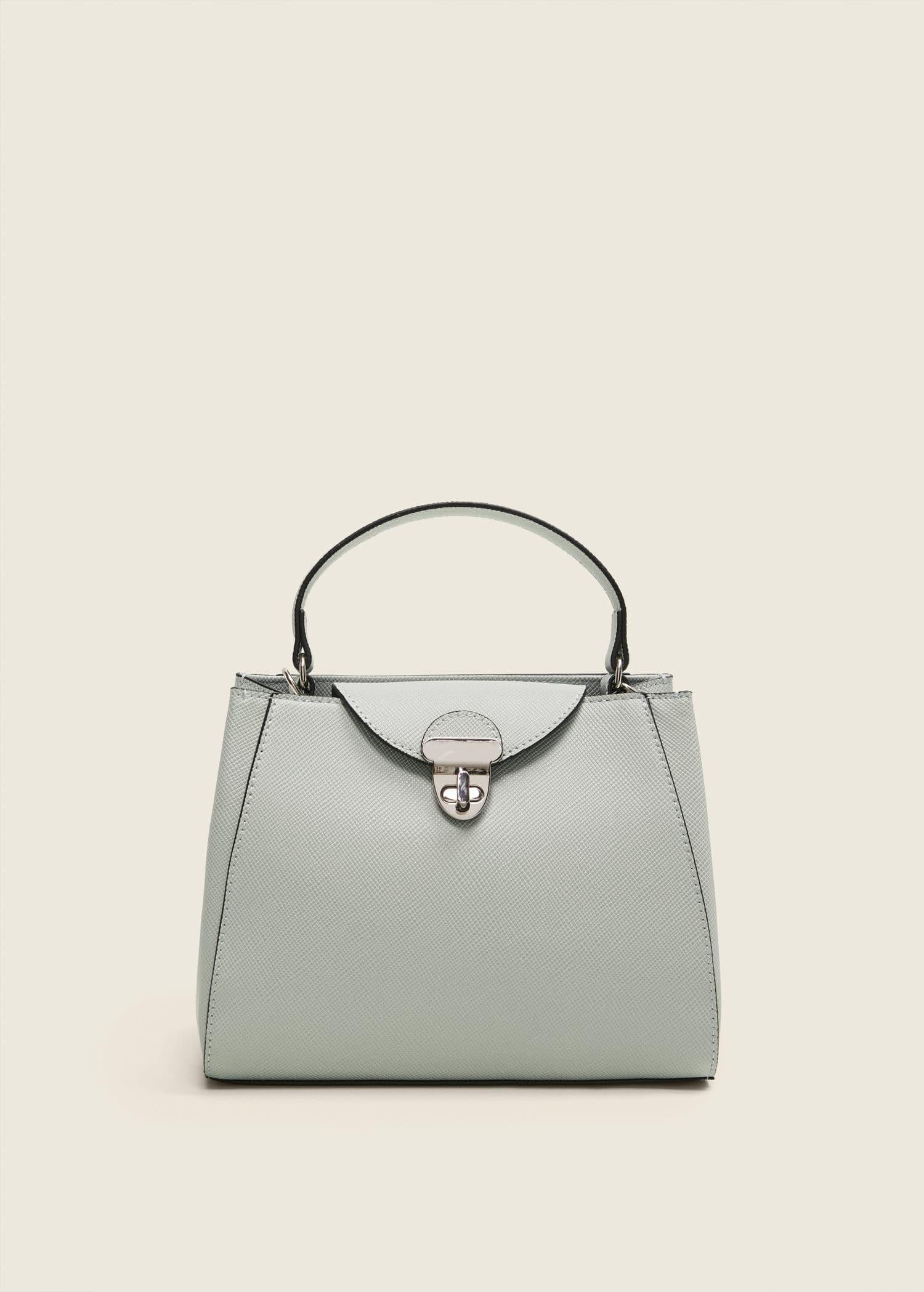 In Saffiano Optik Österreich Mini Shopper Bag DamenMango nyvN0wm8O