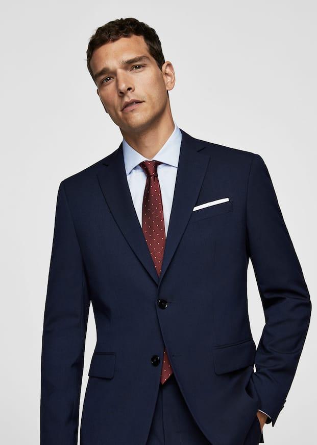 Slim Fit Suit Blazer by Mango