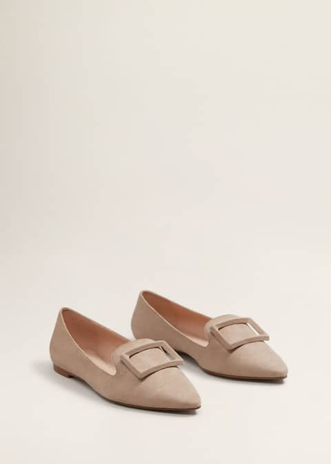 Παπούτσια φλατ αγκράφα