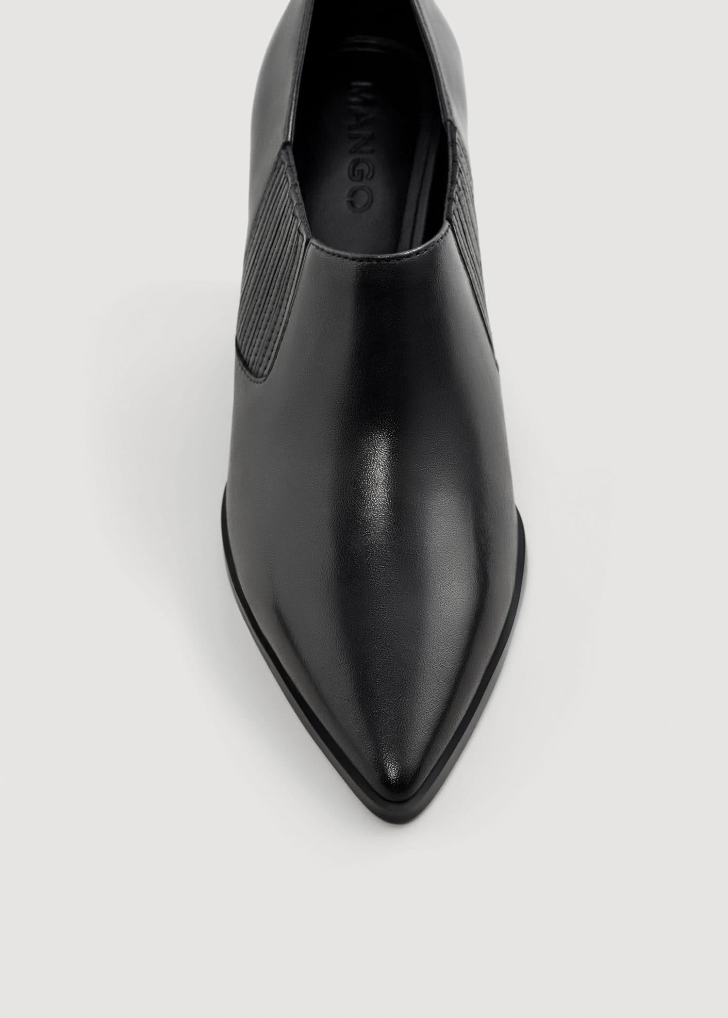 Zapatillas 2018 varios diseños sitio oficial Botín piel tacón - Mujer | OUTLET España