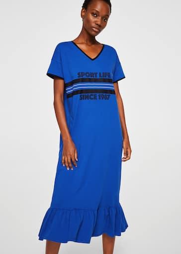 49c4c99307b3 Long cotton dress - Women