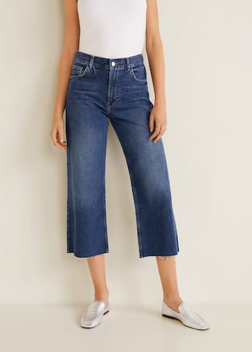 Relaxed 7 8 Jeans