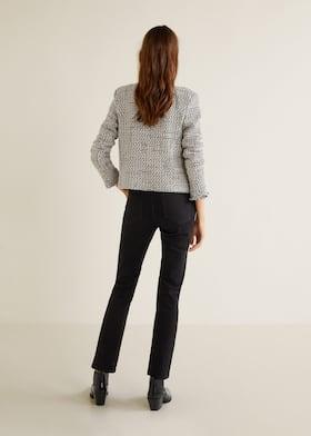 descuento especial en venta muchos de moda Chaqueta tweed ribetes