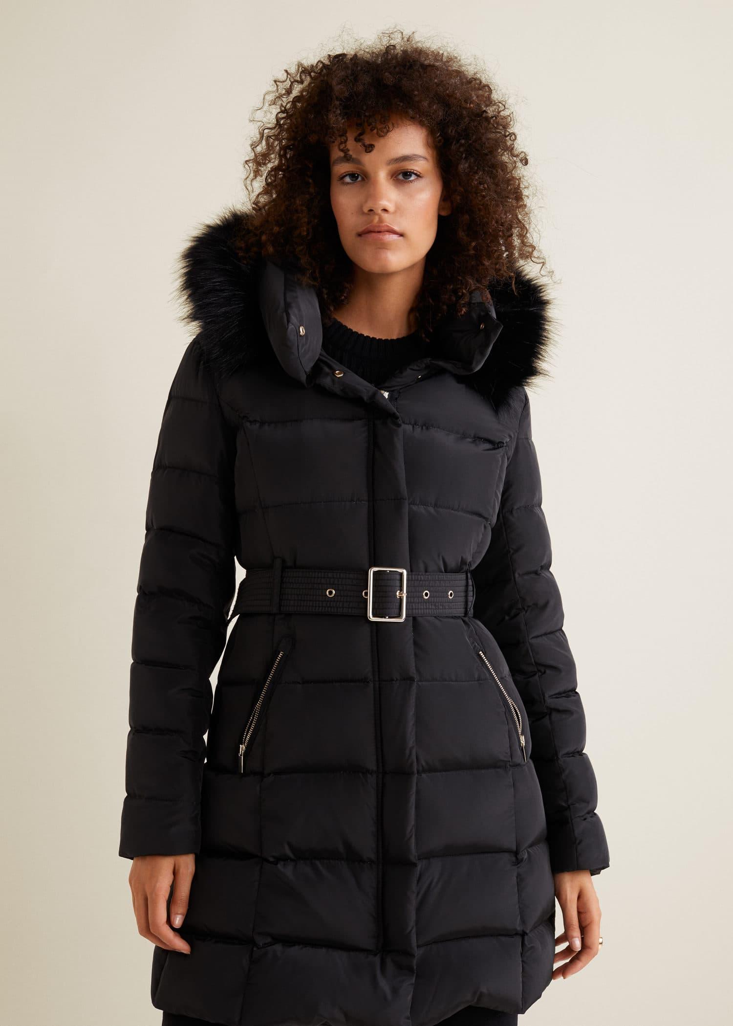Beau manteau chaud femme
