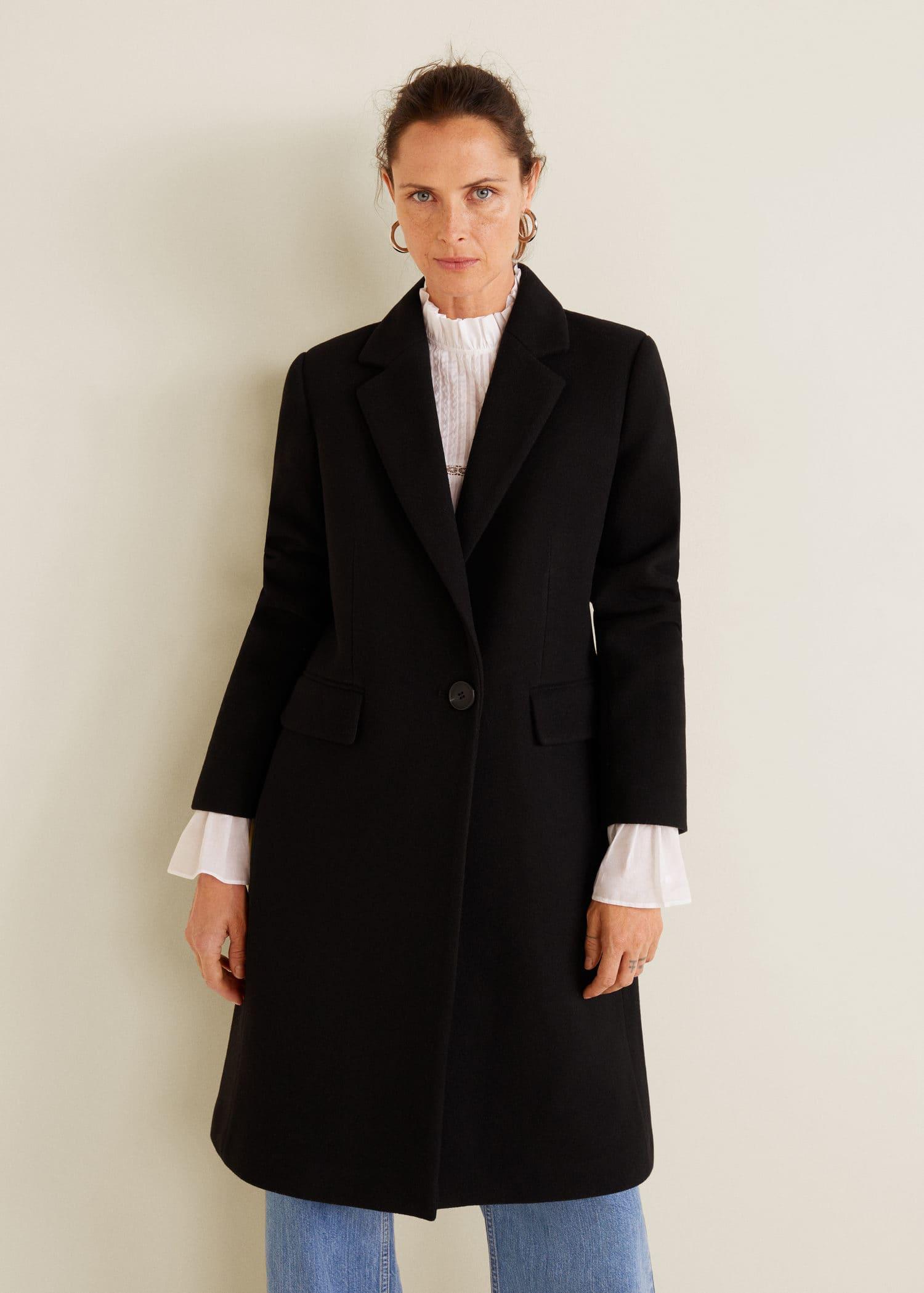 rico y magnífico gran venta seleccione para mejor Abrigo lana estructurado - Mujer | OUTLET Islas Canarias