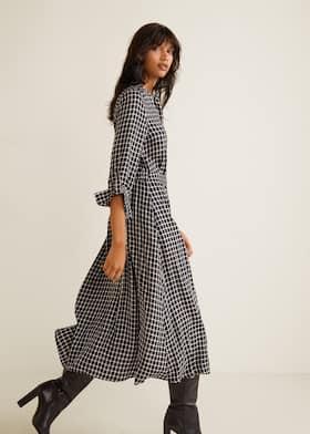 Últimas tendencias baratas para descuento Garantía de calidad 100% Vestido camisero cuadros