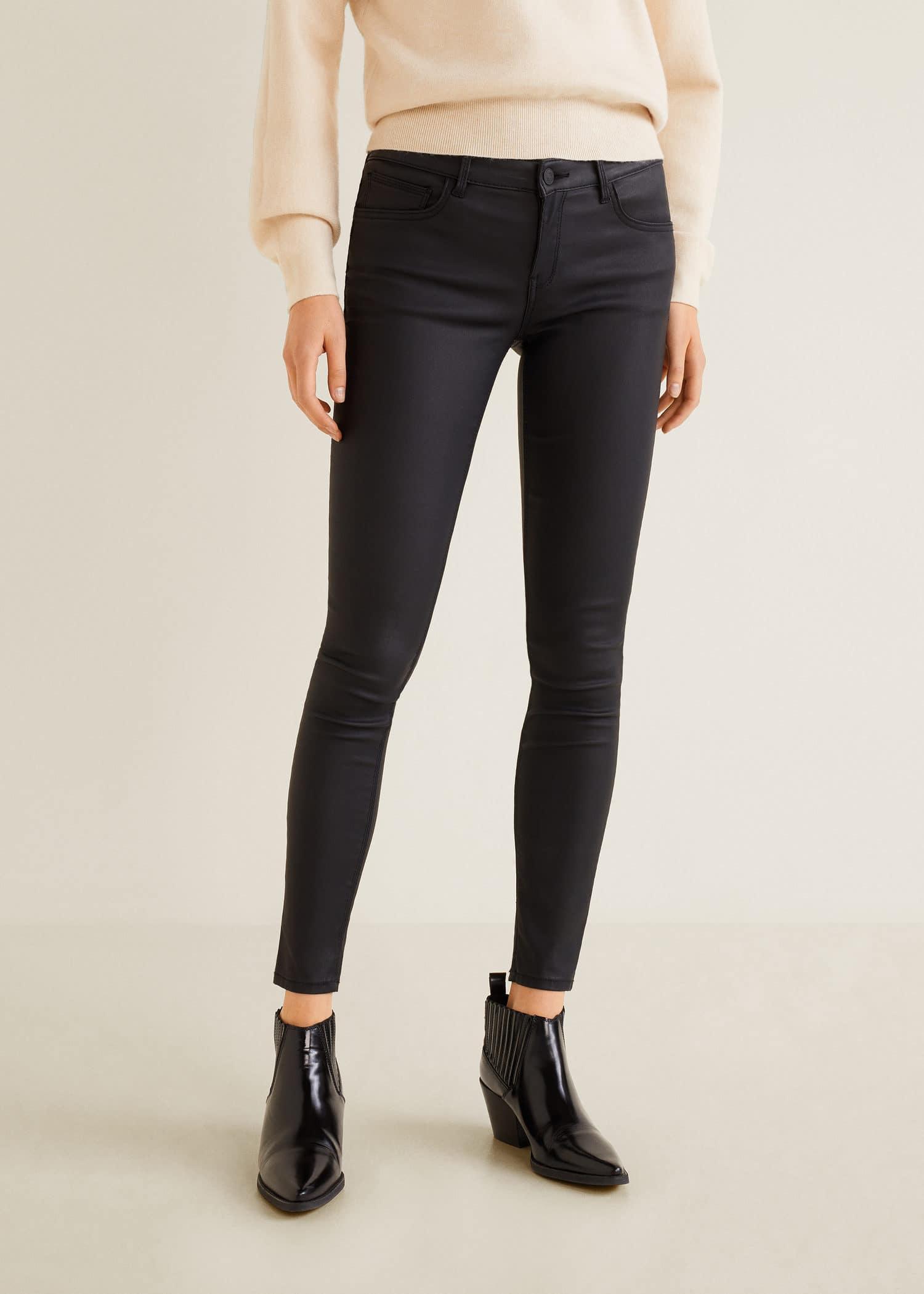 Kim Jeans Coated Push Skinny Up QrCsthdx
