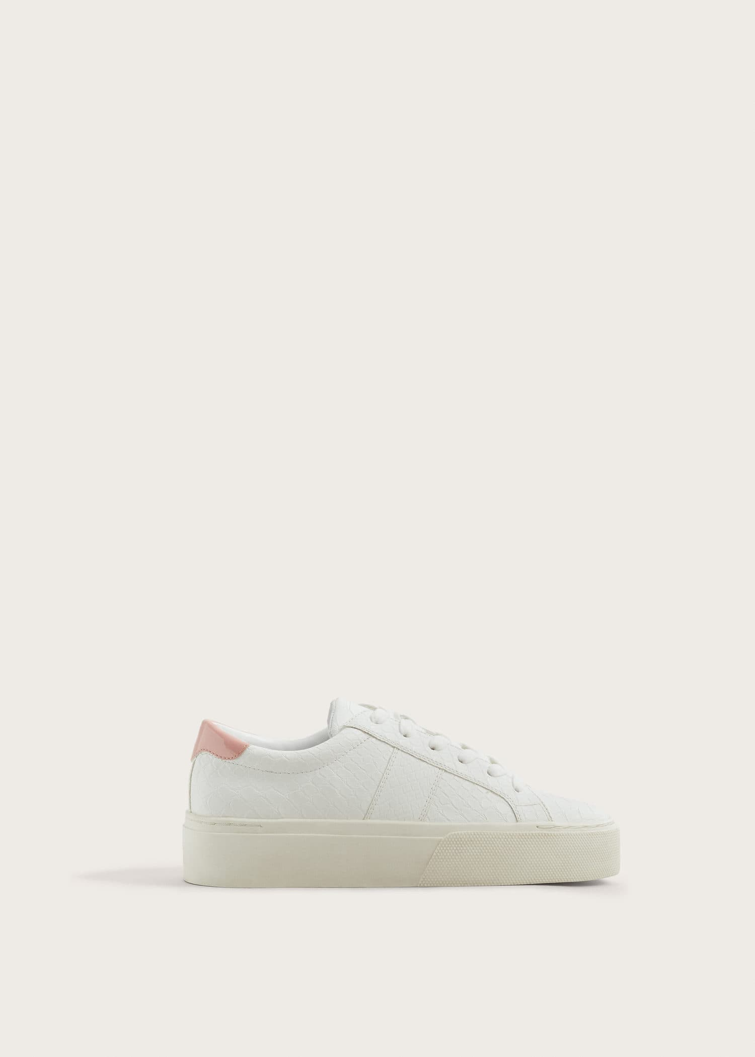 Geschnürte plateau sneakers Große größen | Violeta by