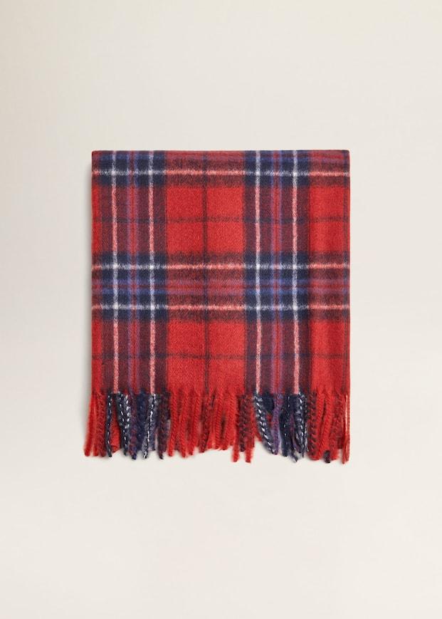 5003ed65780 Plaid scarf - Woman