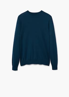 705690c62adc3b 100% merino wool sweater - Men | Mango Man USA