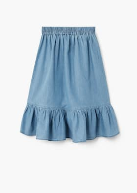 choose original choose genuine vast selection Ruffle denim skirt