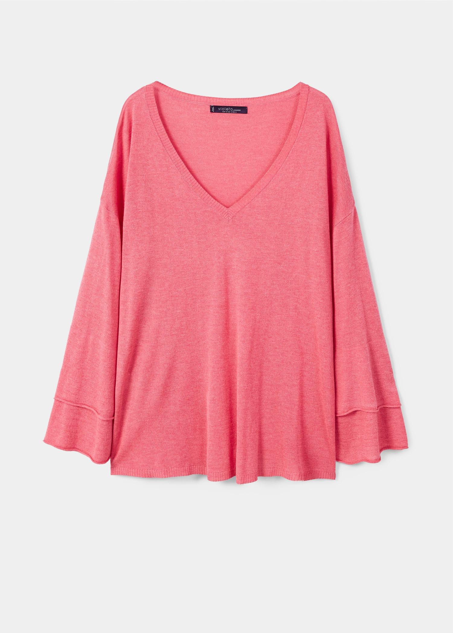 Sizes 100 Plus Cashmere By Sweater Lithuania Mango Violeta qBFOZwH