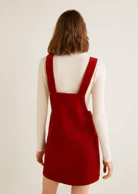 7d55864d6 Corduroy pinafore dress
