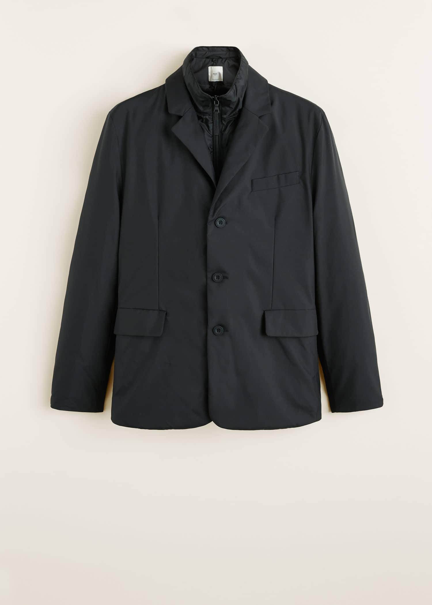 chaqueta acolchada plumon ref 33045666 mango hombre