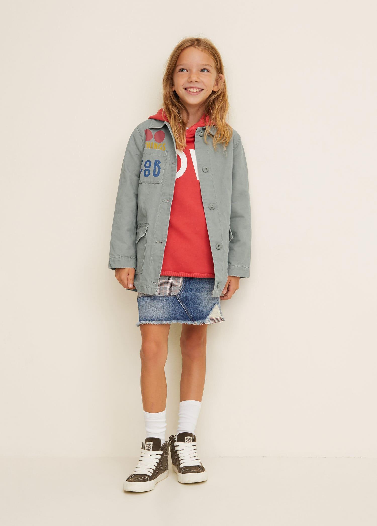 Mode Fille 2019   MANGO Kids France f9ee404a228f