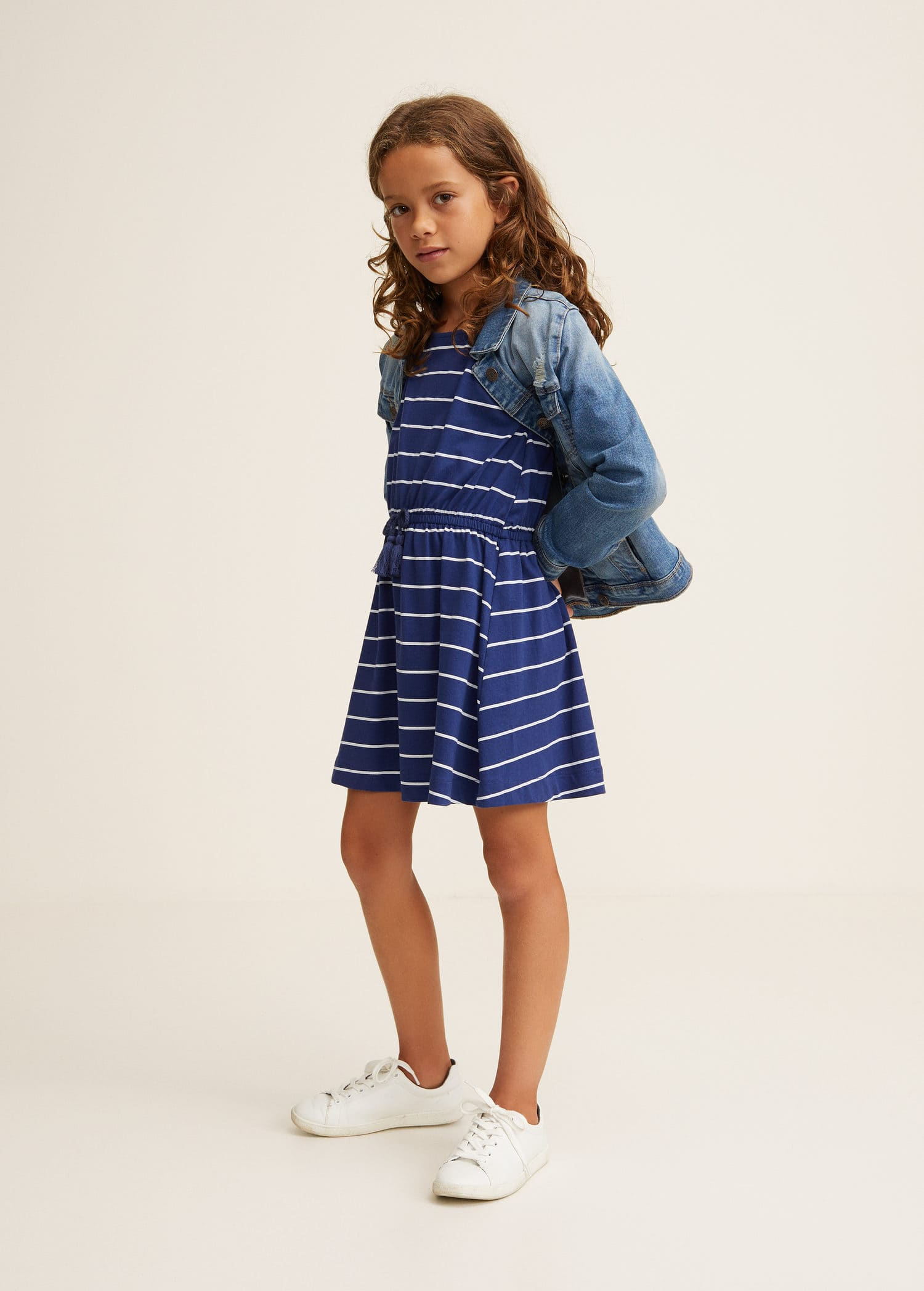 Robes pour Fille 2019   MANGO Kids France 6bfef5fa94c8