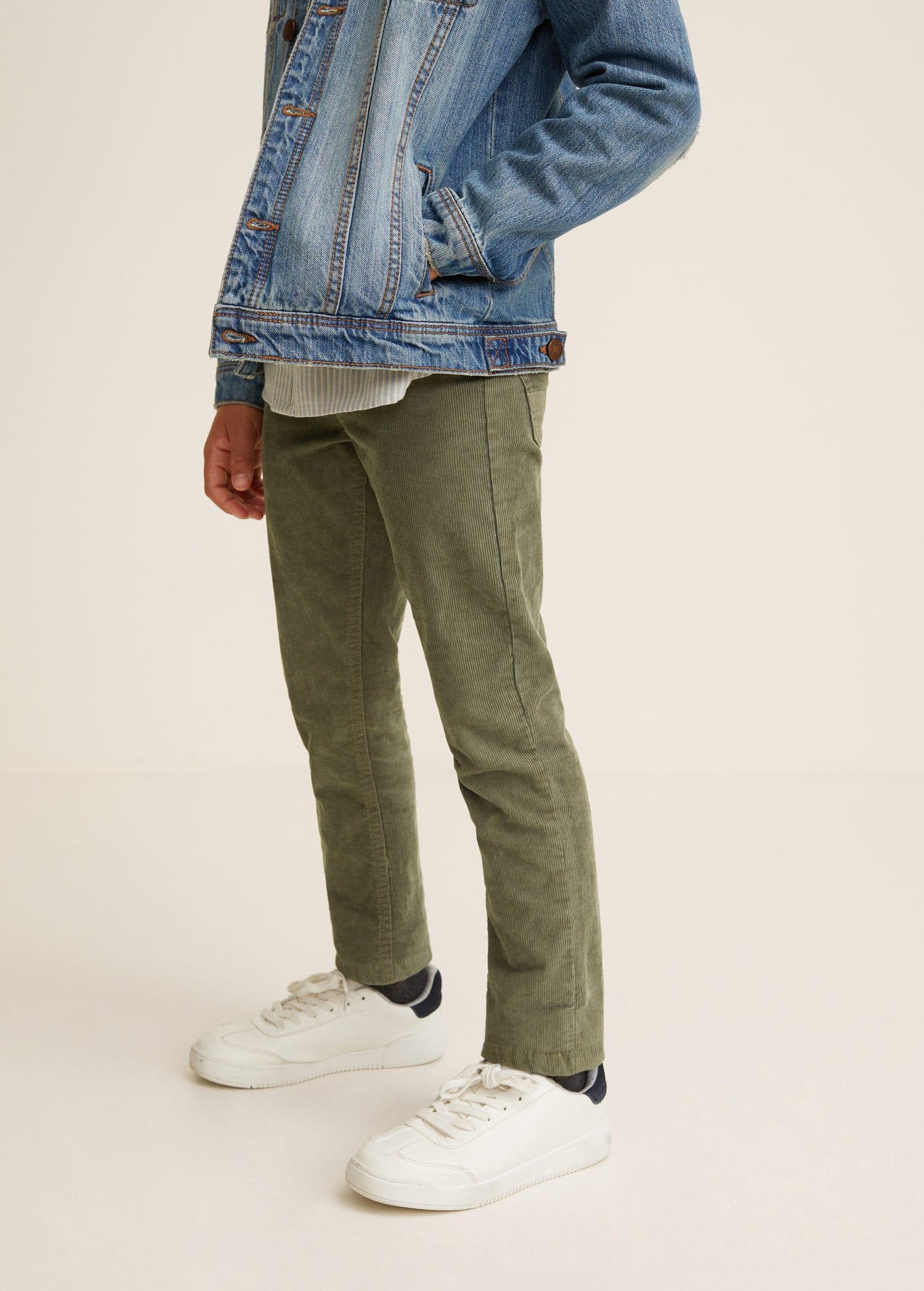 Pantalons pour Garçon 2019   MANGO Kids France 0170c14a2765