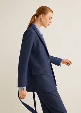 e51f6f5ab0a4a5 Bow suit blazer