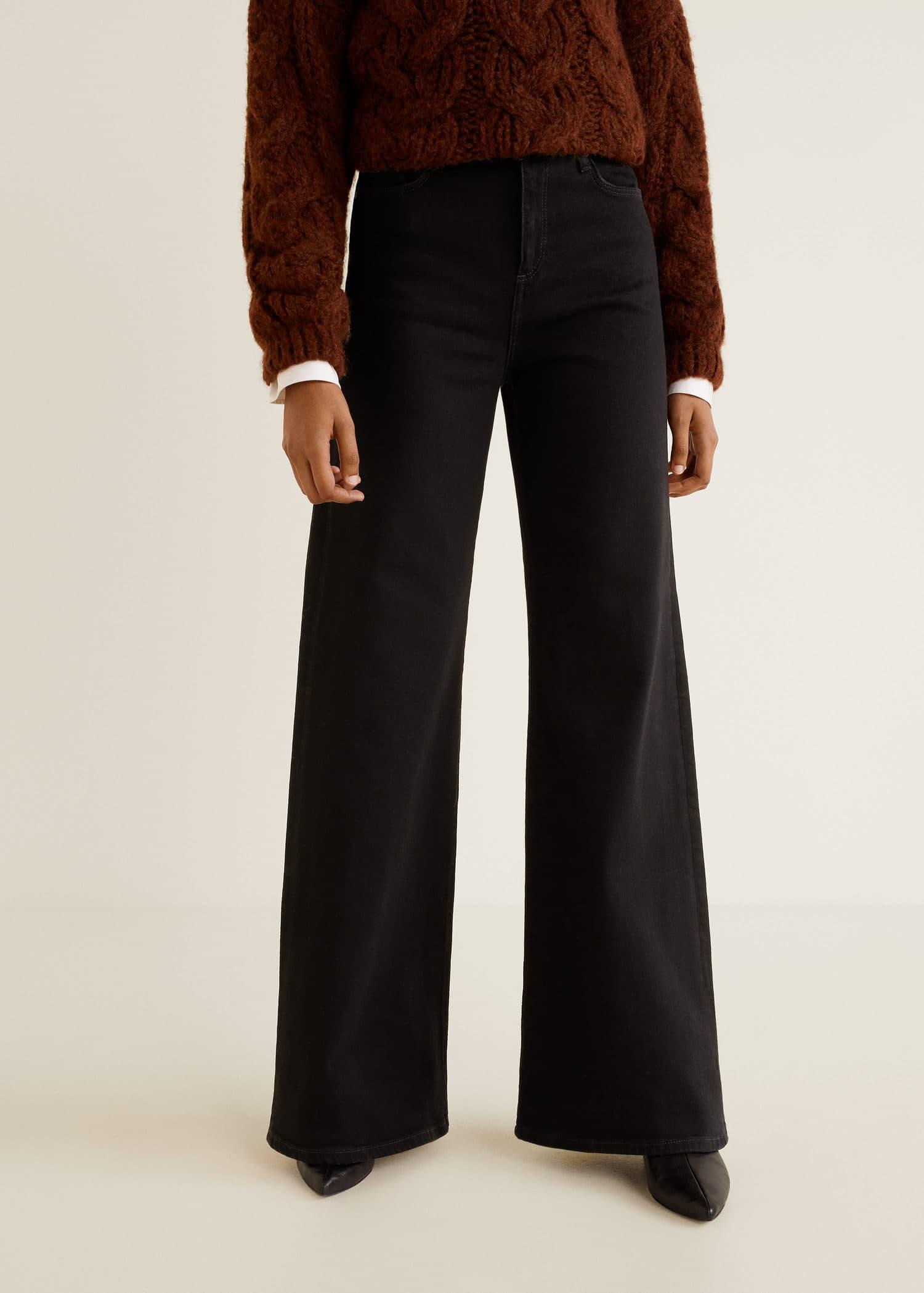 Página web oficial venta outlet estilo exquisito Jeans flare high waist - Vaqueros de Mujer   OUTLET España