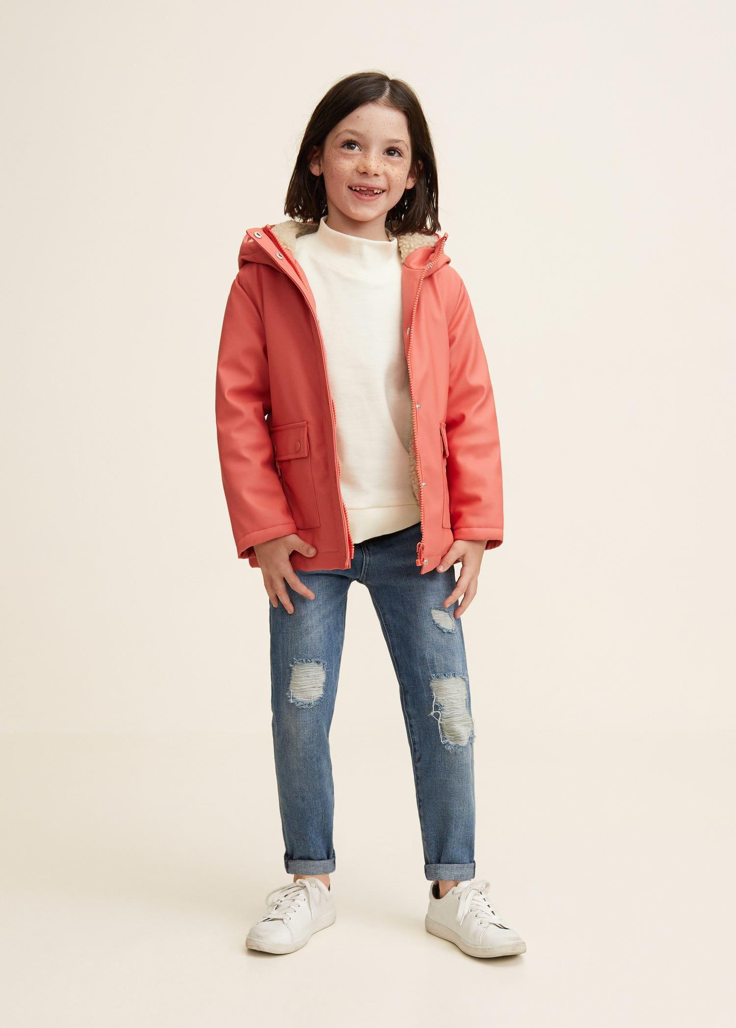 1629134ac2103 Manteaux pour Fille 2019   MANGO Kids France