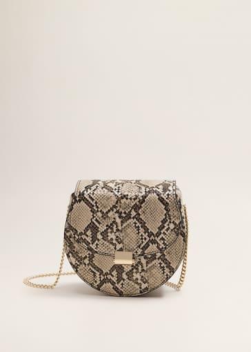 6e3eb2522 Flap chain bag - Women | Mango United Kingdom