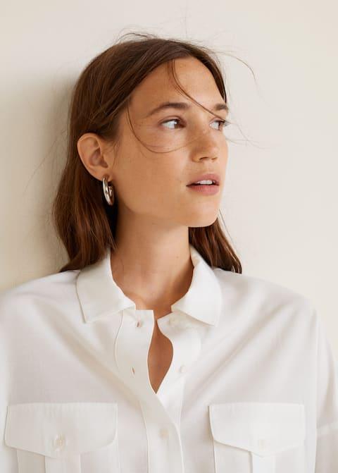 Πουκάμισο soft τσέπες