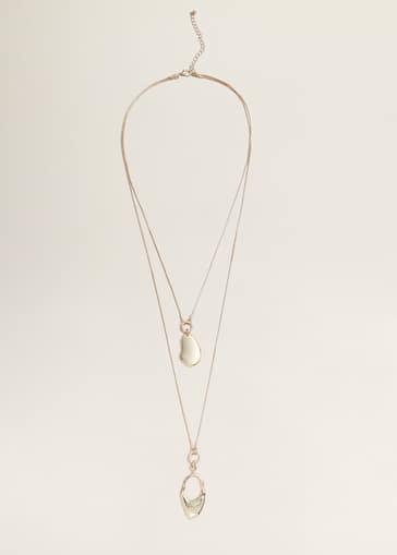 cbb607e217567 Double chain necklace