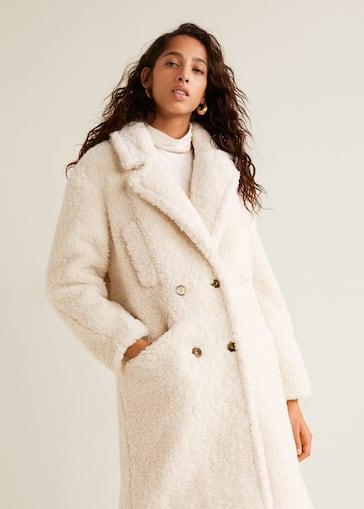 71bdc06500 Faux shearling coat - Women