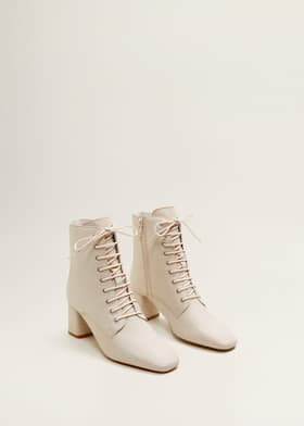 23e68174879 Lace-up leather boots