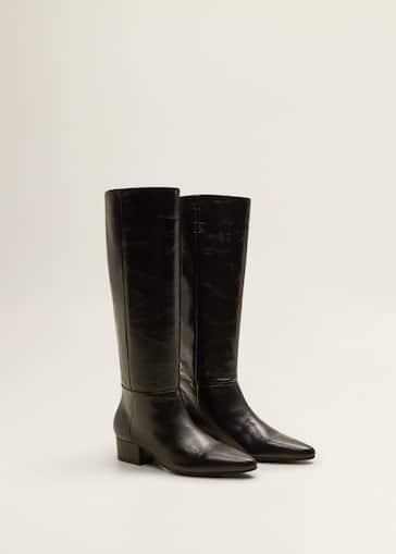 rechercher les plus récents Nouveaux produits super populaire Leather high-leg boots