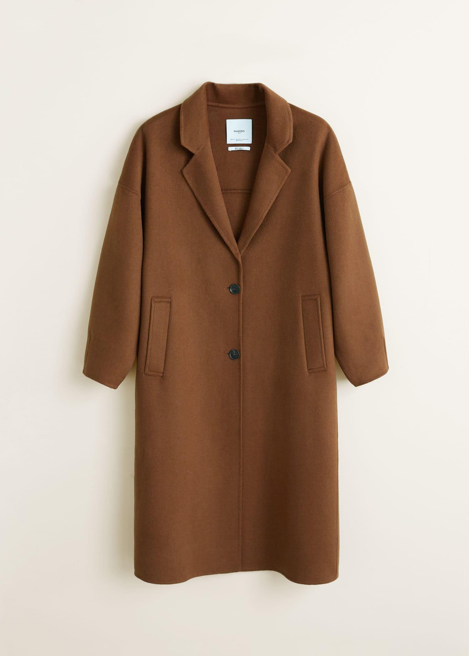 coatsCoatFashion Handmade mantel DamenMango DamenMango Handmade mantel 35AR4jL