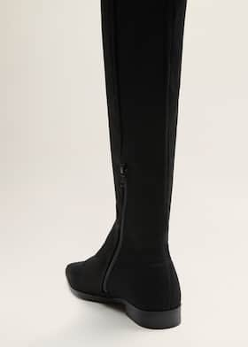 9490e562f7f Flat over-the-knee boots - Women