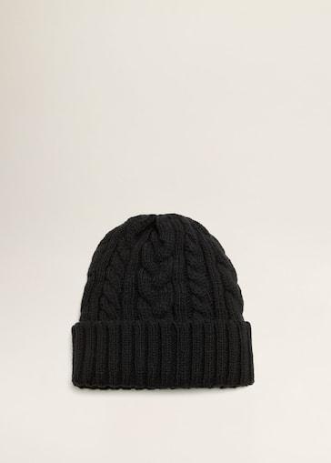 c7343cf52ef Cable-knit beanie - Men | Mango Man USA