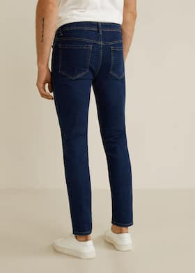 e708d20c4a Jeans skinny rotos decorativos - Vaqueros de Hombre