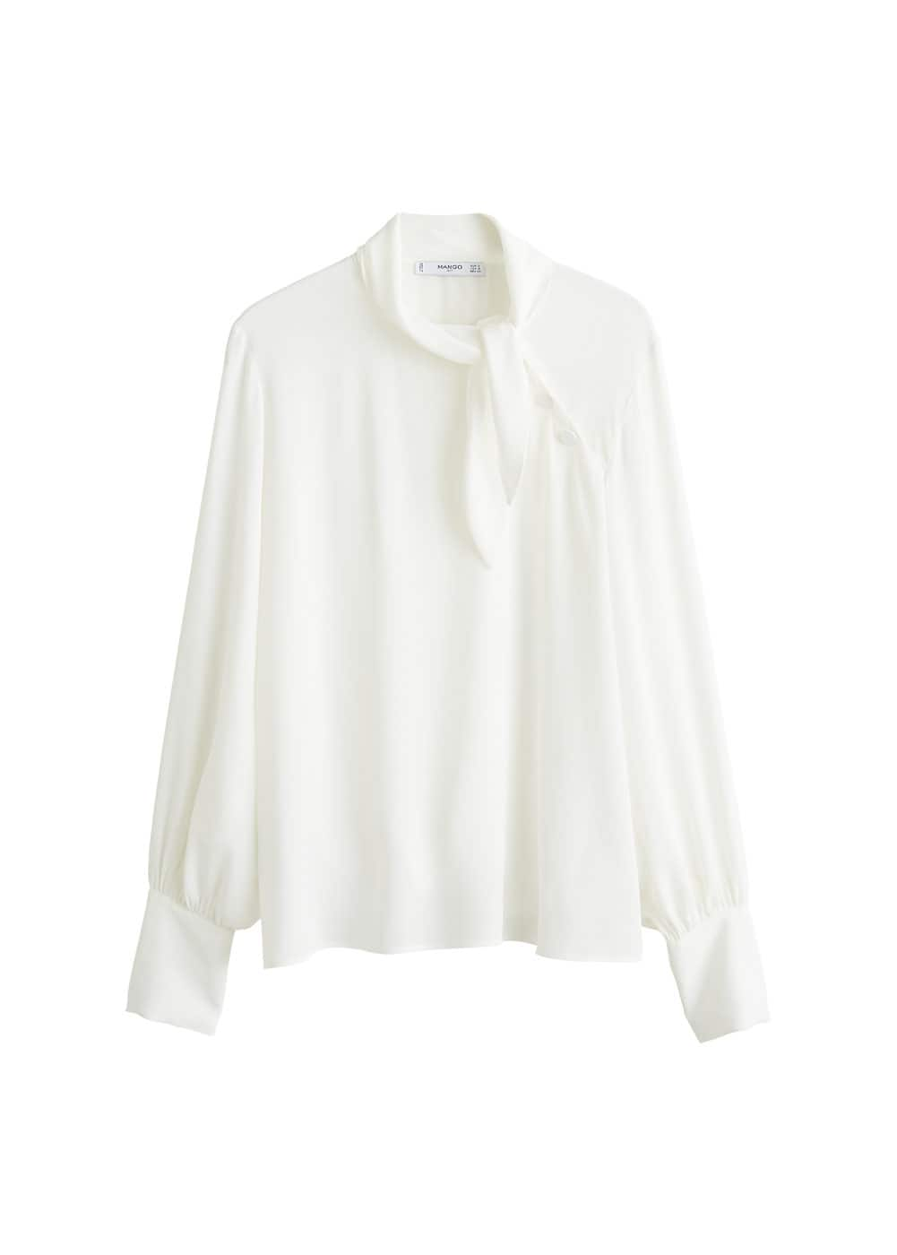 mango witte blouse