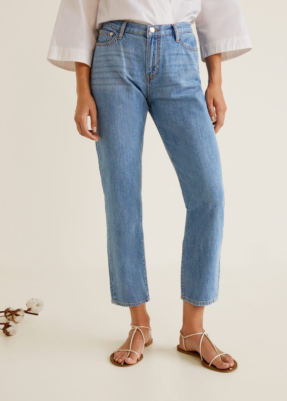 m-relaxed:jeans relaxed crop