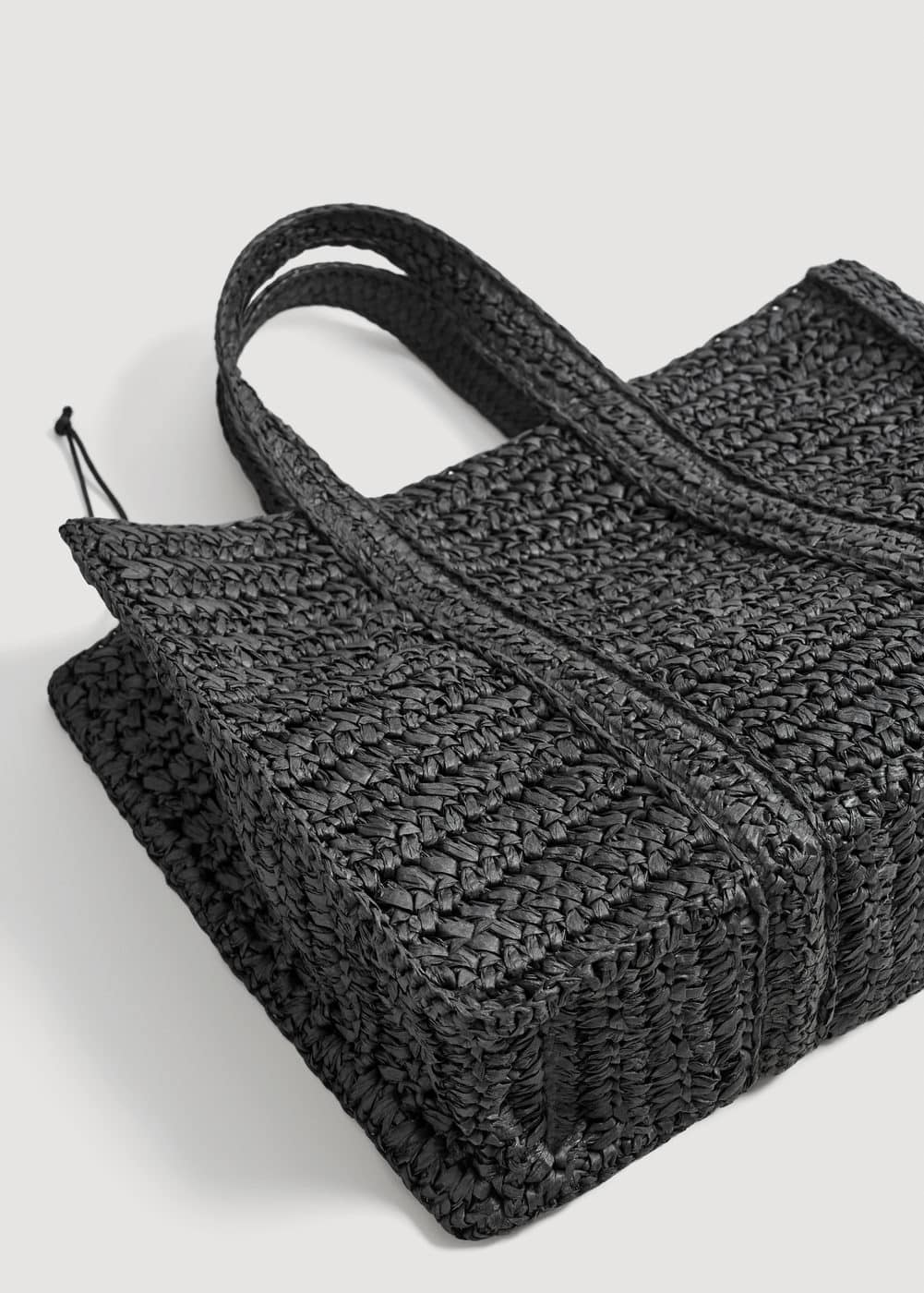 Torba Shopper Pleciona by Mango