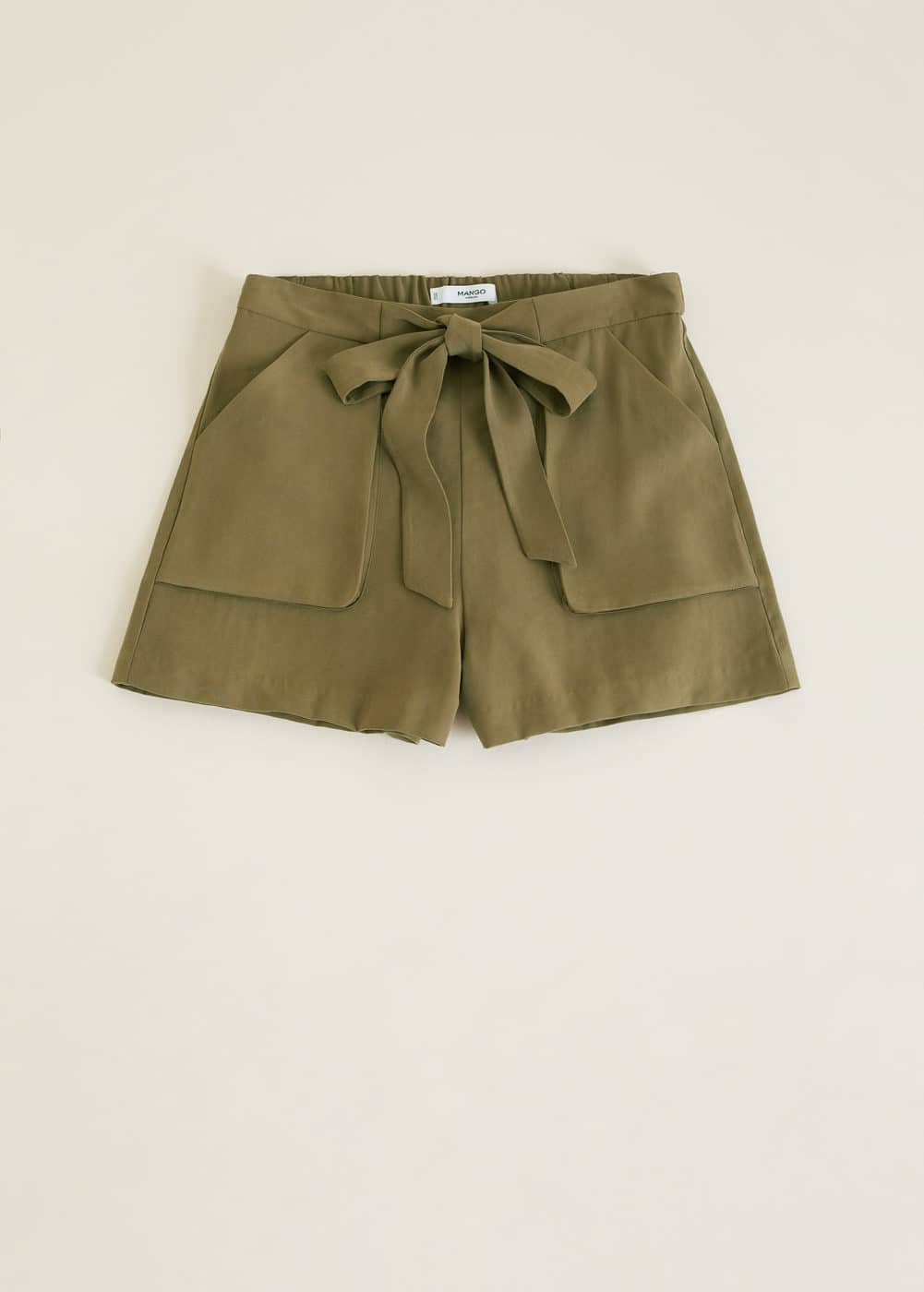 a9fee77159 Bow flowy shorts - Women | Mango USA
